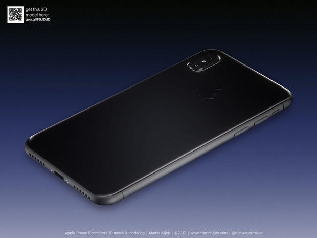 Cận cảnh vẻ đẹp mê mẩn của iPhone 8 có thể làm bạn dốc hết hầu bao để mua ngay - Ảnh 20.