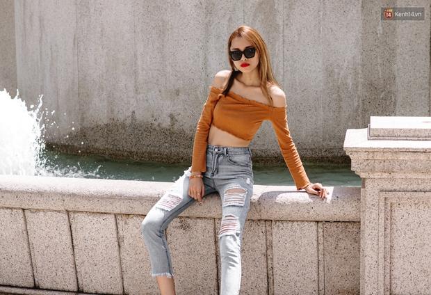 Street style chẳng cần lồng lộn, cứ cao và gầy thì đơn giản cũng thành mặc đẹp của mẫu Việt tuần qua - Ảnh 10.