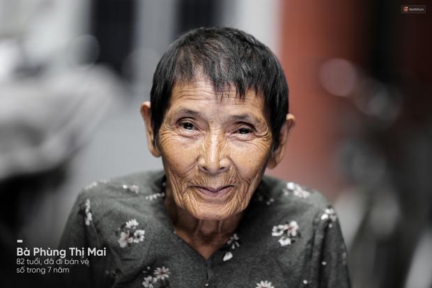 Người già bán vé số tại Sài Gòn: Những phận người bị bỏ quên - Ảnh 4.