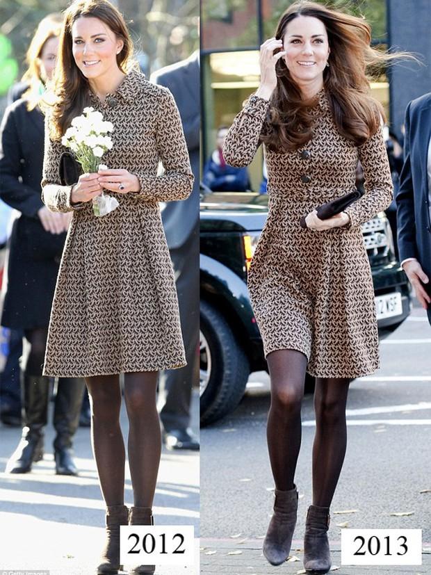 Công nương Kate tiết kiệm tột cùng, mang váy cũ từ... 6 năm trước ra mặc lại - Ảnh 8.