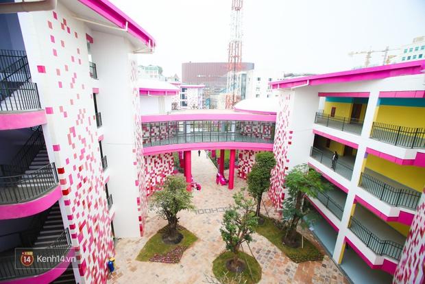 Du học tại chỗ ở Hà Nội tại ngôi trường mới toanh, sang xịn và toàn màu hồng! - Ảnh 8.