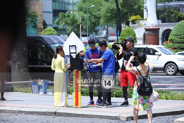 Amazing Race Trung Quốc tại Việt Nam: Vương Lệ Khôn - Trịnh Nguyên Sướng mặc áo dài, kiệt sức dưới trời nắng - Ảnh 10.