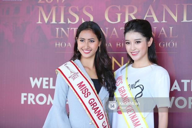Huyền My đọ sắc cùng Miss Cambodia ở Hoa hậu Hòa bình Thế giới 2017, ai đẹp hơn ai? - Ảnh 7.