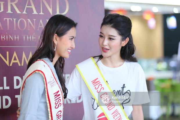 Huyền My đọ sắc cùng Miss Cambodia ở Hoa hậu Hòa bình Thế giới 2017, ai đẹp hơn ai? - Ảnh 9.