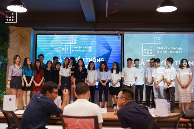 IC Master 2017: Chắp cánh ước mơ khởi nghiệp cho những Nhà truyền thông tài ba - Ảnh 17.
