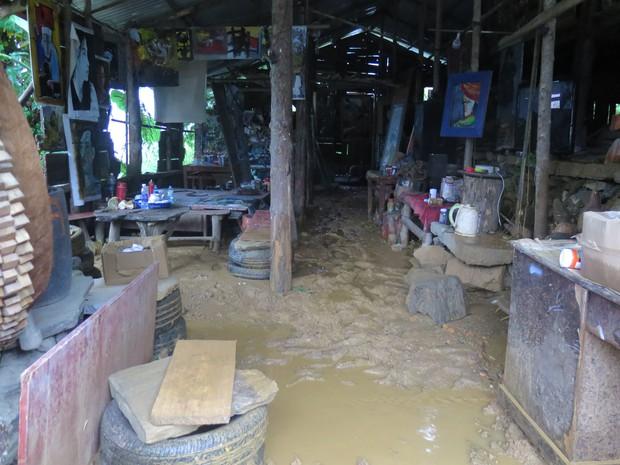 Chùm ảnh: Hoàn lưu bão số 2 càn quét nặng nề khu du lịch Cát Cát ở Sa Pa - Ảnh 5.