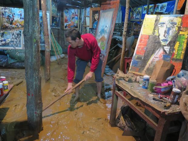 Chùm ảnh: Hoàn lưu bão số 2 càn quét nặng nề khu du lịch Cát Cát ở Sa Pa - Ảnh 8.