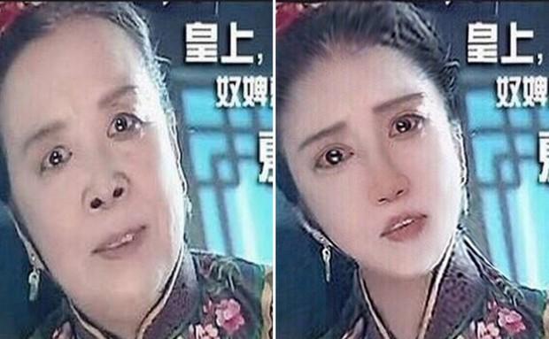 Đến Dung Ma Ma của Hoàn Châu Cách Cách còn hóa mỹ nhân thì ai chẳng lột xác được nhờ photoshop! - Ảnh 5.