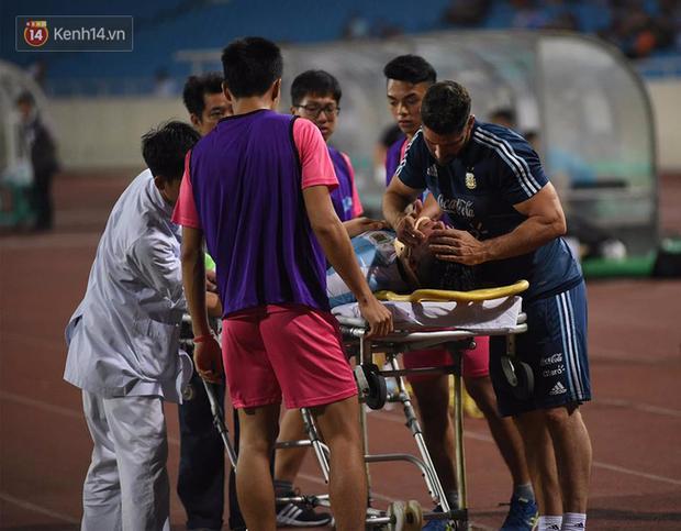 Cầu thủ Argentina nhập viện khẩn cấp sau pha tranh chấp với cầu thủ U22 Việt Nam - Ảnh 3.