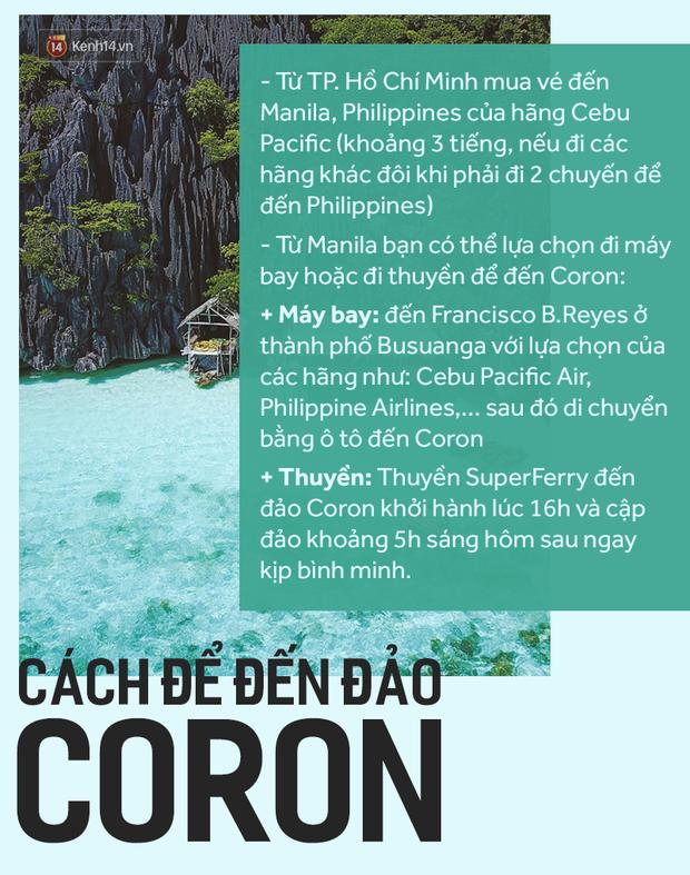 Đảo Coron - Thiên đường lặn biển đẹp mê hoặc chỉ cách Việt Nam 3h bay - Ảnh 2.