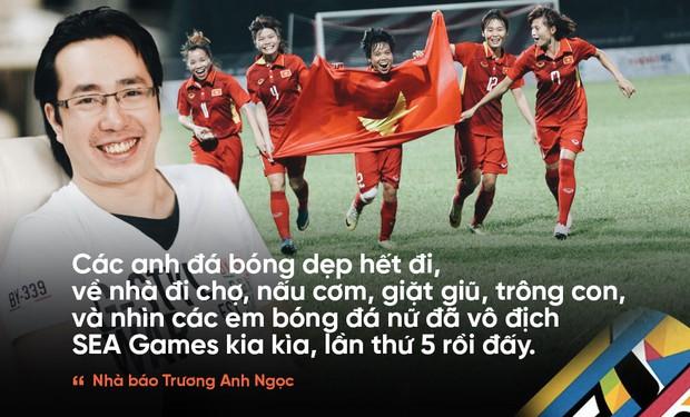 Tuyển nữ vô địch, tuyển nam ra về, nhà báo Trương Anh Ngọc nói: