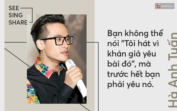 Hà Anh Tuấn: Nếu See Sing Share không được khán giả ủng hộ, thì chưa chắc tôi sẽ đi tiếp với âm nhạc - Ảnh 4.