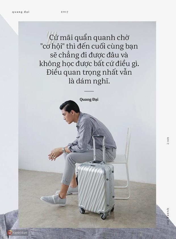 Quang Đại - Đấy là chàng trai trong mơ của mọi cô gái, không chỉ bởi gương mặt đẹp và chiều cao 1m88 - Ảnh 4.