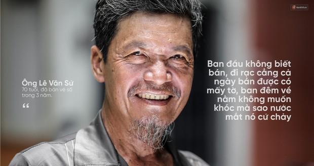 Người già bán vé số tại Sài Gòn: Những phận người bị bỏ quên - Ảnh 3.