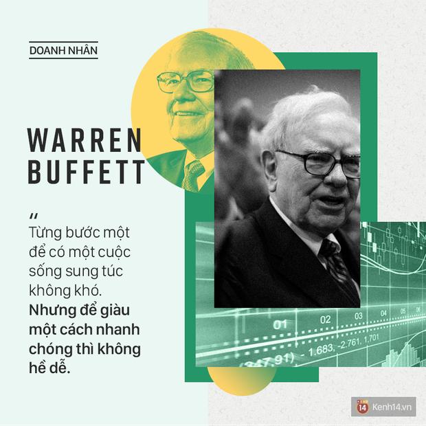 Tỷ phú Warren Buffett và những câu nói 'chất lừ' truyền cảm hứng an lạc cho mọi người