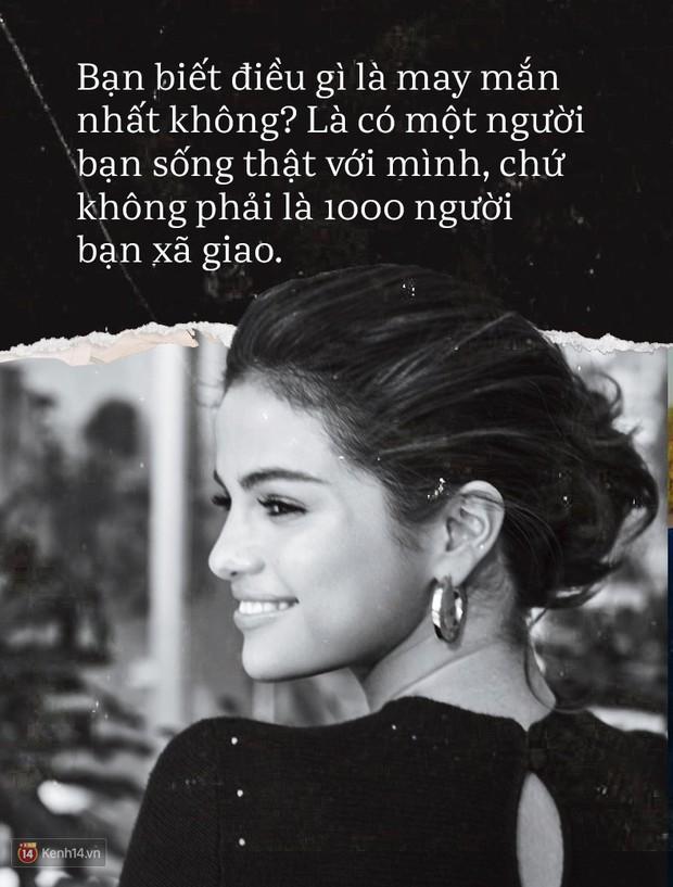 Đằng sau vết sẹo của Selena Gomez: Khi vinh hoa cả trăm ngàn bạn, lúc hoạn nạn tri kỉ chỉ còn hai - Ảnh 5.