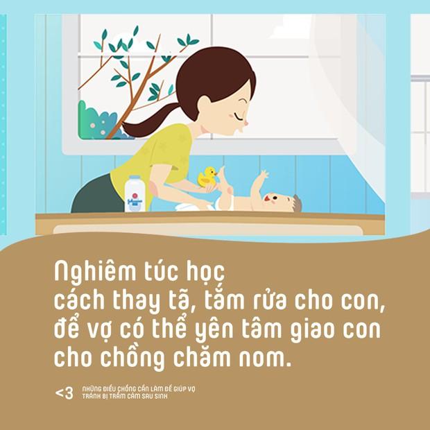 Những điều chồng cần làm để giúp vợ phòng tránh bị trầm cảm sau sinh - Ảnh 7.