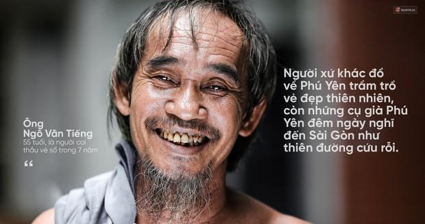 Người già bán vé số tại Sài Gòn: Những phận người bị bỏ quên - Ảnh 14.