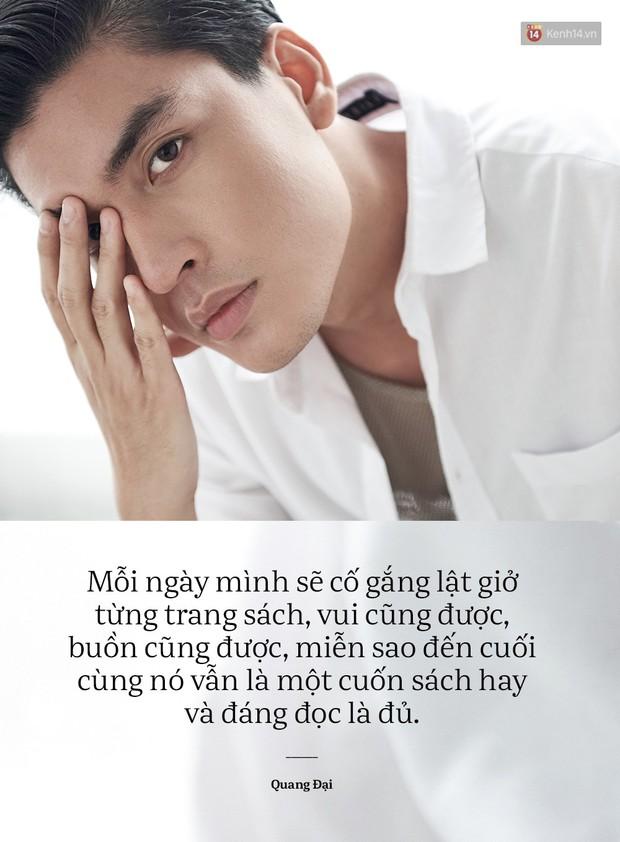 Quang Đại - Đấy là chàng trai trong mơ của mọi cô gái, không chỉ bởi gương mặt đẹp và chiều cao 1m88 - Ảnh 10.