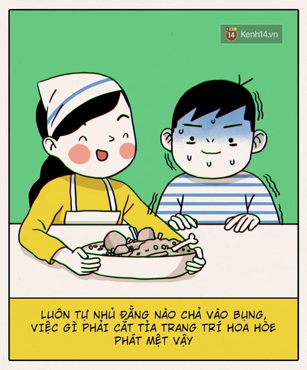 Đây chính xác là những gì sẽ diễn ra khi con gái không biết nấu ăn vào bếp - Ảnh 16.