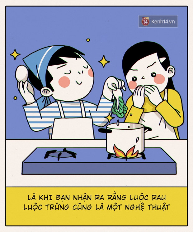 Đây chính xác là những gì sẽ diễn ra khi con gái không biết nấu ăn vào bếp - Ảnh 1.
