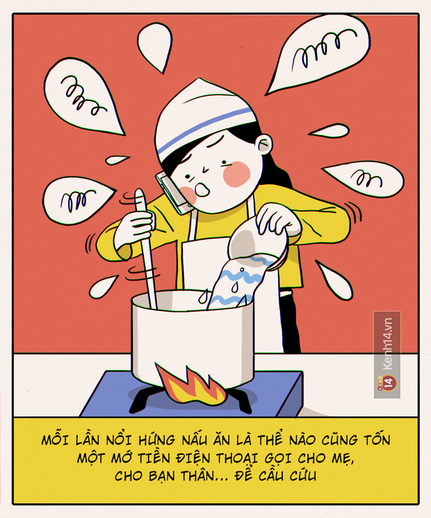 Đây chính xác là những gì sẽ diễn ra khi con gái không biết nấu ăn vào bếp - Ảnh 14.