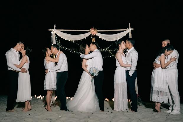 MC Thành Trung quỳ gối cầu hôn bạn gái bên bờ biển lãng mạn - Ảnh 7.