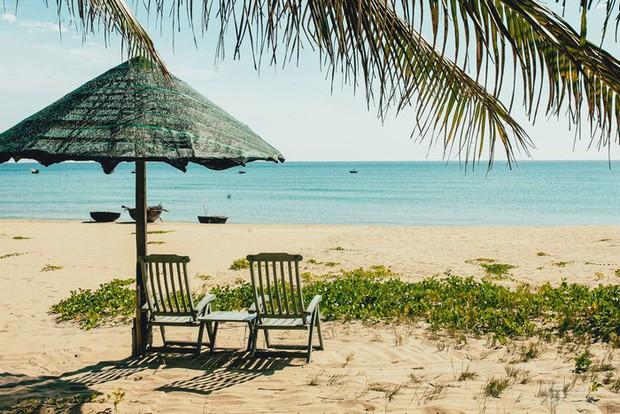 Ngay gần Hội An có bãi biển lọt top đẹp nhất Châu Á: Mới toanh và cực ít người biết - Ảnh 1.