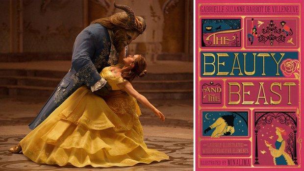 """""""Tam sao thất bản"""" giữa """"Beauty and the Beast"""" cổ tích, người đóng và hoạt hình - Ảnh 1."""