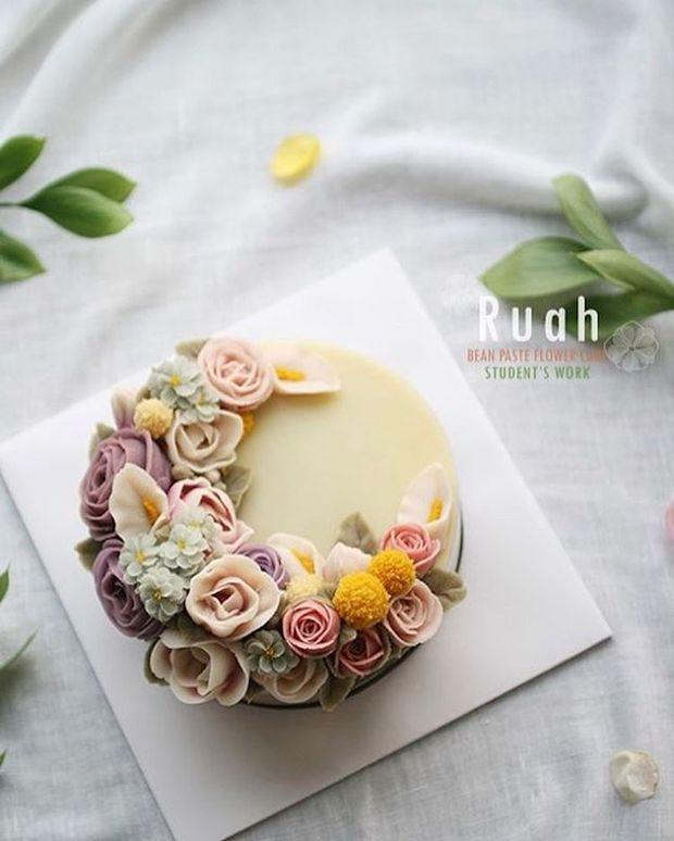 15 chiếc bánh kem hoa cỏ mùa xuân đạt tới đỉnh cao của nghệ thuật nấu nướng - Ảnh 29.
