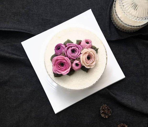 15 chiếc bánh kem hoa cỏ mùa xuân đạt tới đỉnh cao của nghệ thuật nấu nướng - Ảnh 25.