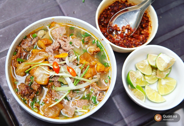 Ở Hà Nội có một món bún rất lạ: đầy ắp thịt bò mà chỉ có 25k - Ảnh 4.