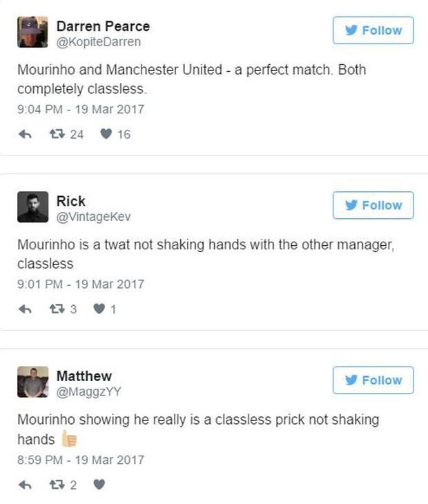 Bỏ vào đường hầm sớm, Mourinho bị chê trách vì thiếu lễ độ - Ảnh 2.