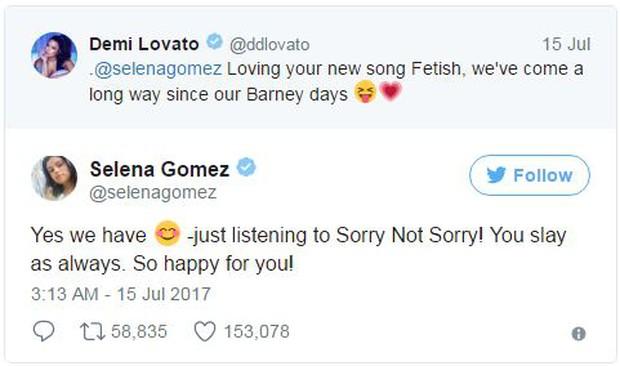 Sau chiến tranh lạnh, Selena Gomez và Demi Lovato bất ngờ nối lại tình chị em thân thiết - Ảnh 1.