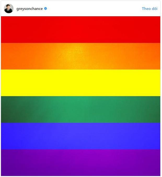 Thần đồng âm nhạc nhí một thời Greyson Chance công khai là người đồng tính - Ảnh 1.
