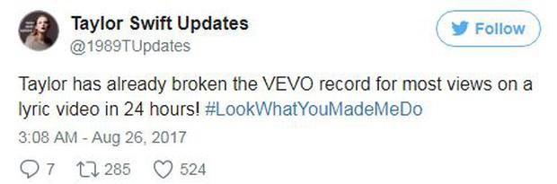 Chỉ tung Lyric Video, Taylor Swift đã dập Katy Perry tơi tả trên mọi mặt trận - Ảnh 4.
