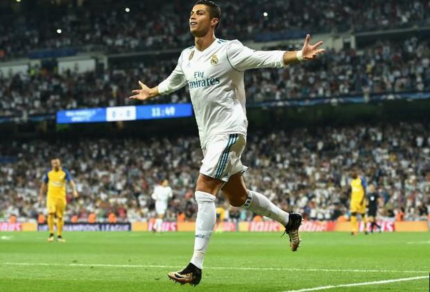 Ronaldo lập cú đúp, Real thắng 3 sao ở Champions League - Ảnh 1.