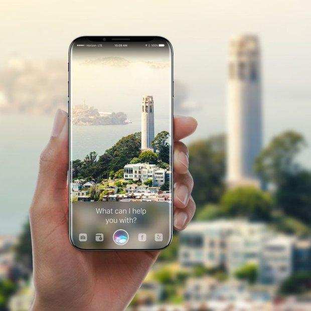 Cận cảnh chiếc iPhone X với màn hình cong tràn cạnh đẹp mướt mải - Ảnh 2.