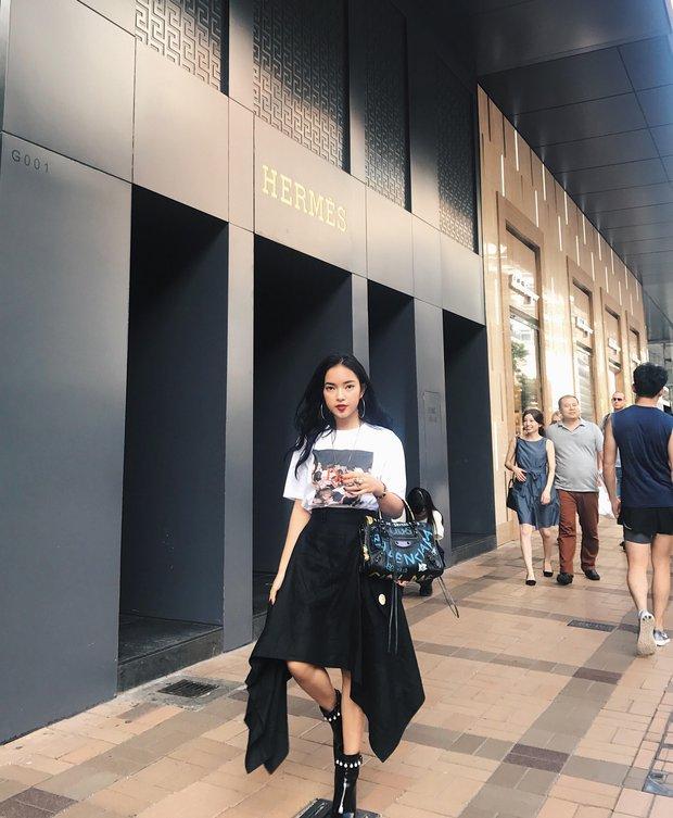 Châu Bùi độn chiều cao với giày 20cm tại buổi ra mắt BST Louis Vuitton tại Hong Kong - Ảnh 5.