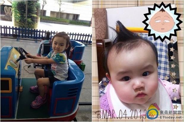Bị mẹ ngăn cản, cô bé 5 tuổi vẫn kiên quyết cắt tóc răng cưa để giống thần tượng Maruko - Ảnh 9.