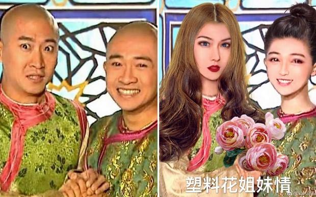 Đến Dung Ma Ma của Hoàn Châu Cách Cách còn hóa mỹ nhân thì ai chẳng lột xác được nhờ photoshop! - Ảnh 9.