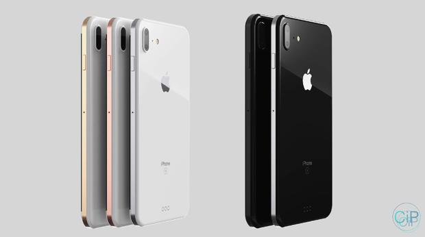 Cận cảnh iPhone 8 đẹp mĩ miều, chuẩn từng milimet - Ảnh 3.