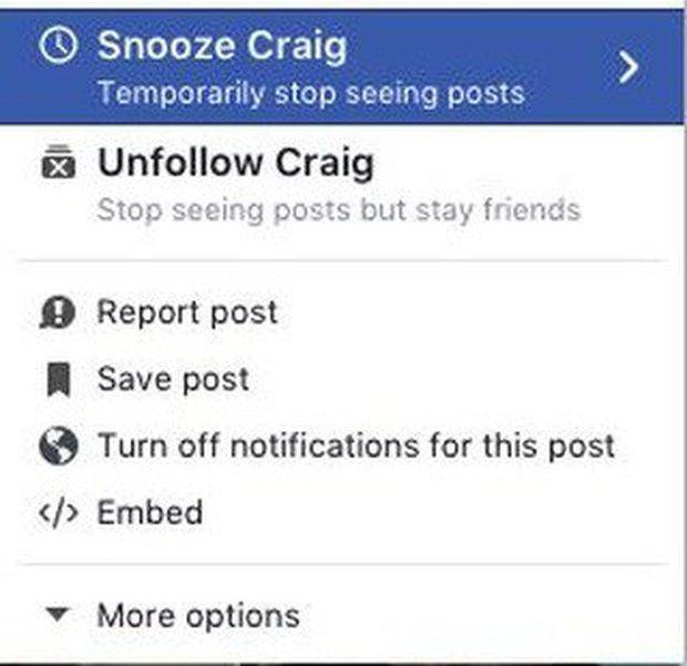 Cuối cùng Facebook cũng có cách để bạn tạm thời thoát khỏi những người phiền phức - Ảnh 1.