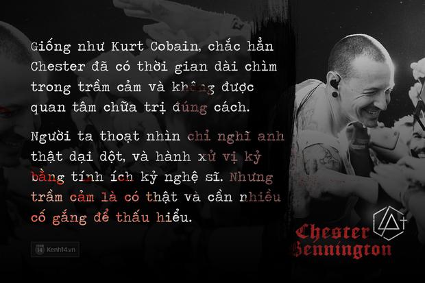 Chester Bennington: Những tâm hồn mỏng manh trong thế giới Rock đầy gai góc - Ảnh 4.