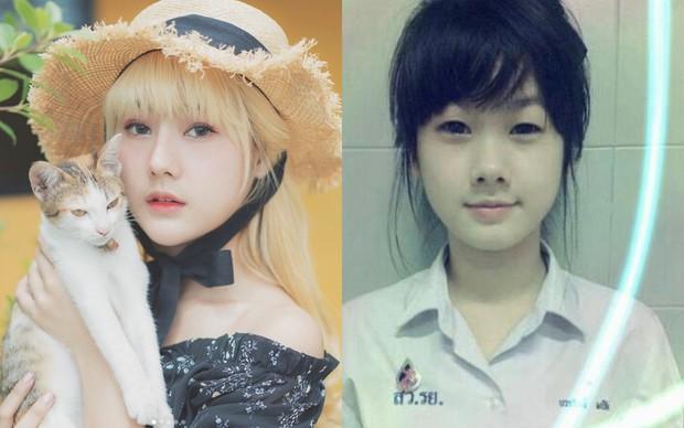 Lộ ảnh trong quá khứ, hot girl nổi tiếng Thái Lan bị nghi đã PTTM