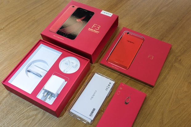 Trên tay OPPO F3 phiên bản Đỏ Đam Mê: màu sắc mới nổi bật, cấu hình và giá không đổi - Ảnh 15.