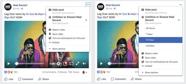 Cuối cùng Facebook cũng có cách để bạn tạm thời thoát khỏi những người phiền phức - Ảnh 2.