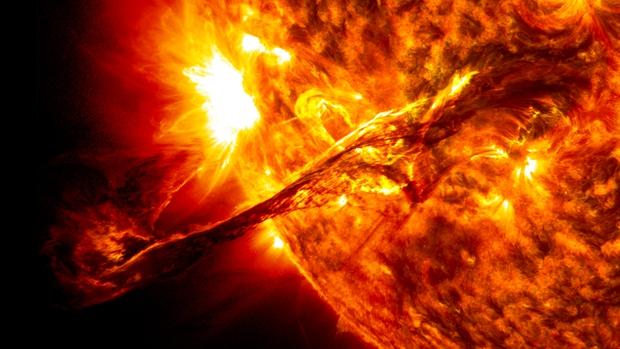 Thảm họa chúng ta muốn nhắc đến ở đây chính là bão Mặt trời.