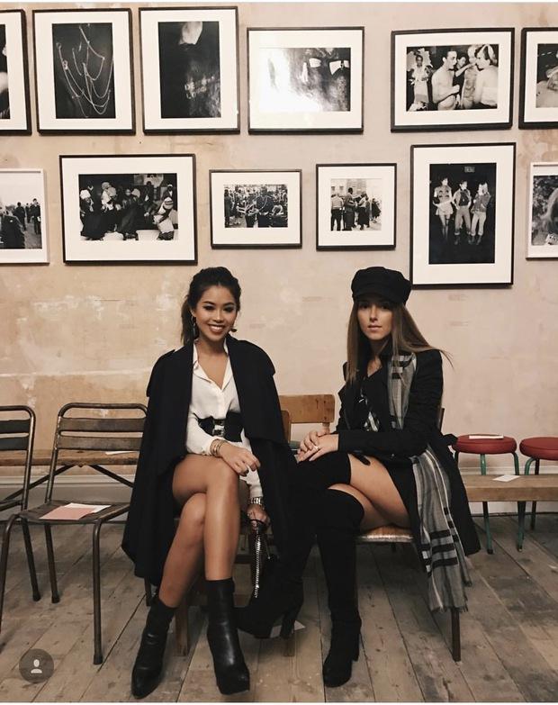 Hóa ra Thảo Tiên - em chồng Hà Tăng mới là mỹ nhân Việt càn quét front-row từ London đến Milan Fashion Week - Ảnh 12.