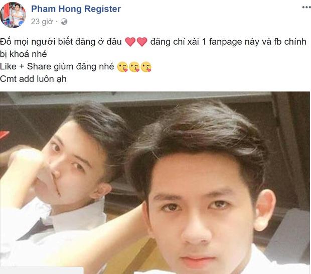 Hotboy cầm cờ trường Phan Đình Phùng lộ ảnh thời cấp 2, xuất hiện loạt tài khoản mạo danh trên Facebook - Ảnh 6.